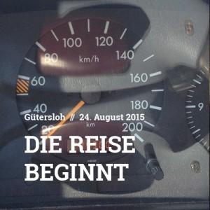 GT – HH | Die Reise beginnt | 24.8.15